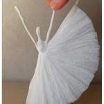Něžné papírové baleríny