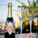 Jak ozdobit skleničku na šampaňské