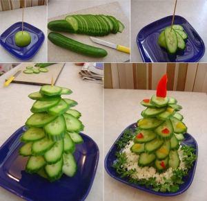 jedlé vánoční stromky