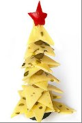 sýrový vánoční strom