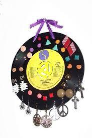 gramofonová deska na šperky