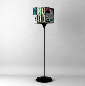 lampa z audiokazt