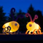 Světlušky z prázdných plastových vajíček