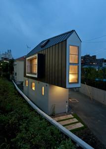 trojúhleníkový dům