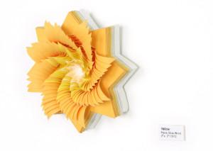 3D oranžová květina