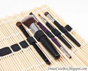 bambusová kosmetická taška