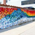 Mozaika z PET víček