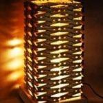 lampa z kolíčků
